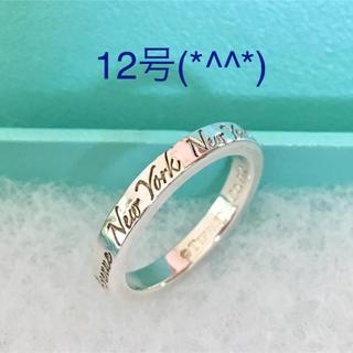 ティファニー(Tiffany & Co.)のティファニーノーツリング 12号(*^^*)(リング(指輪))