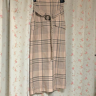 フレイアイディー(FRAY I.D)の美品  ハイウエストタイトスカート(ロングスカート)