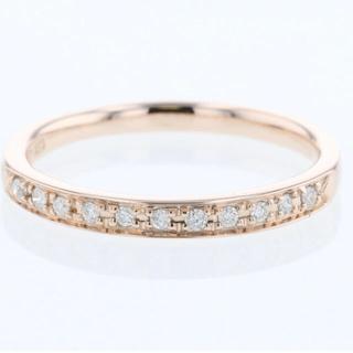ヨンドシー(4℃)の4℃10Kダイヤモンド ピンキーリング3号(リング(指輪))