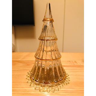 HOLME GAARD ホルムガード  ガラスクリスマスツリー XL(置物)