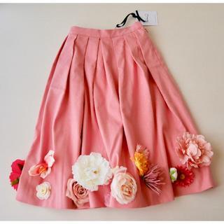 ニーナミュウ(Nina mew)の先着セールDAY 新品 ◆40,300円 nina mew スカート(ひざ丈スカート)