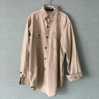 マディソンブルー  ハンプトン ミリタリー ワークシャツ 01