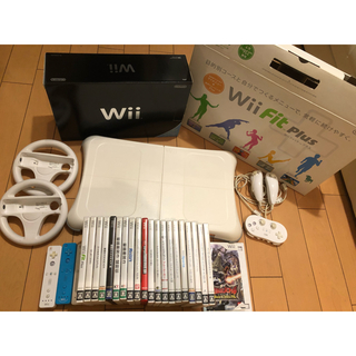 Wii - wii本体「新品未使用」、リモコン、ソフト20本