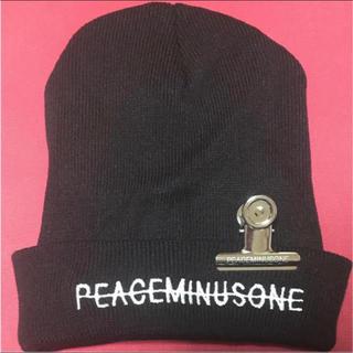 ビッグバン(BIGBANG)のPEACEMINUSONE ニット帽(ニット帽/ビーニー)