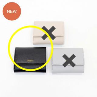 3COINS - ☆ コンパクト三つ折り財布 ブラック ☆