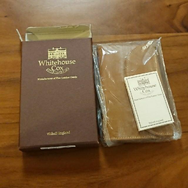 WHITEHOUSE COX(ホワイトハウスコックス)のホワイトハウスコックス S7660 三つ折り財布 メンズのファッション小物(折り財布)の商品写真