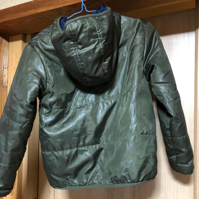 しまむら(シマムラ)のナイロンジャンパー⭐︎140㎝⭐︎カーキ色 キッズ/ベビー/マタニティのキッズ服男の子用(90cm~)(ジャケット/上着)の商品写真