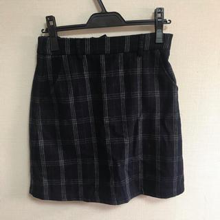 ページボーイ(PAGEBOY)のPAGE BOY チェックスカート(ひざ丈スカート)