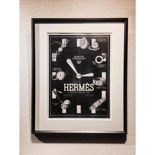 エルメス(Hermes)の20's HERMES Watches ( エルメス ) アンティーク ポスター(その他)