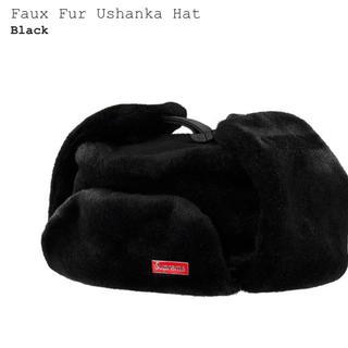Supreme - Supreme faux fur ushanka hat black M/L