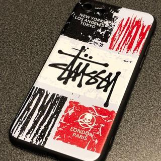 ステューシー(STUSSY)のSTUSSY ステューシー iPhone7.8対応 ホワイト&ブラック(iPhoneケース)