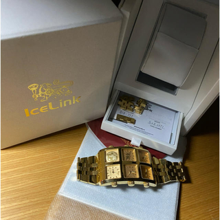 アヴァランチ(AVALANCHE)のICE LINK GENERATION BIG CASE(腕時計(アナログ))