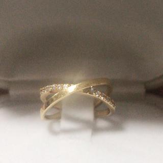 STAR JEWELRY - スタージュエリー   k18  ダイヤモンドクロスリング