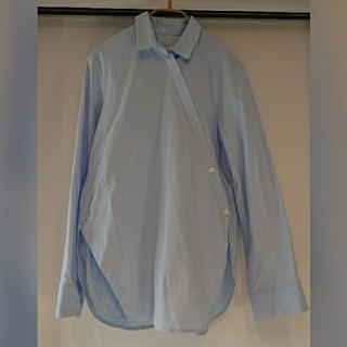 ルシェルブルー(LE CIEL BLEU)のLE CIEL BLUE ロングシャツ 36(シャツ/ブラウス(長袖/七分))