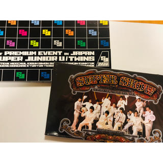 スーパージュニア(SUPER JUNIOR)のsuper junior  DVD 2組セット(ミュージック)