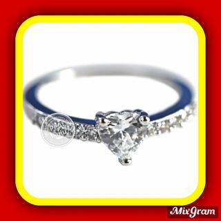 スワロフスキー(SWAROVSKI)の✨定価12800円✨★SWAROVSKI★ エタニティ K18金RGP 指輪(リング(指輪))