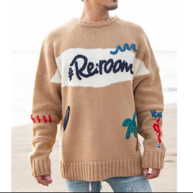 Ron Herman(ロンハーマン)のちょろ0136様専用 Reroom ニット  メンズのトップス(ニット/セーター)の商品写真