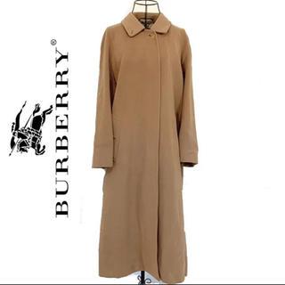 burberry  バーバリー  カシミア ロングコート キャメル レディース