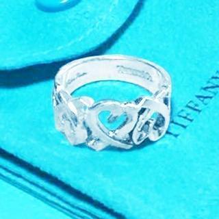 ティファニー(Tiffany & Co.)の☆新品☆未使用☆ティファニー パロマピカソトリプルラビングハートリング9号(リング(指輪))