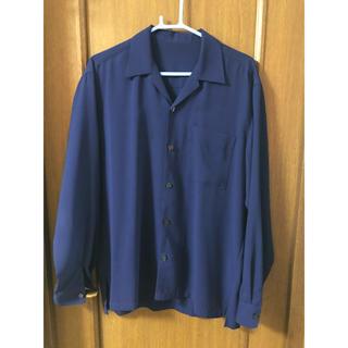 レイジブルー(RAGEBLUE)のオープンカラーシャツ ブルー(シャツ)