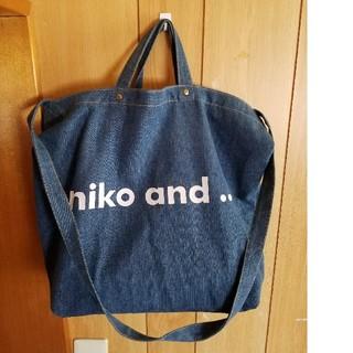 ニコアンド(niko and...)のニコアンド トートバック ショルダーバック(トートバッグ)