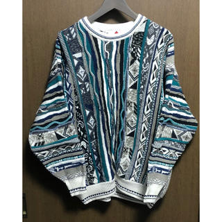 クージー(COOGI)のCOOGI風 ニットセーター 立体編み クレイジーパターン(ニット/セーター)