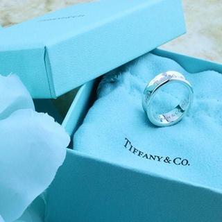 ティファニー(Tiffany & Co.)の☆新品☆未使用☆ティファニー 1837ロゴリング12号(リング(指輪))