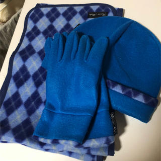 マフラー・帽子・手袋  の3点セット(マフラー/ショール)