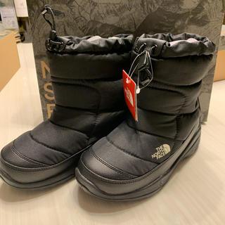 ノースフェイス ヌプシ ブーティー ブーツ 20センチ ブラック