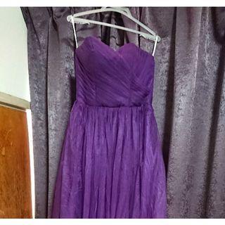 結婚式や発表会に!未使用ロングドレス&ピンヒール (ロングドレス)