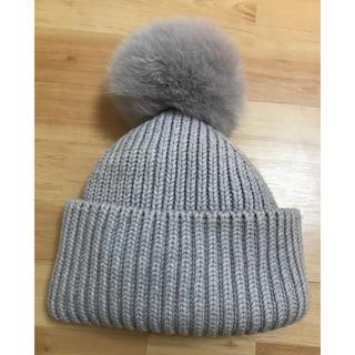 ドゥロワー(Drawer)のドゥロワー  ファーニット帽(ニット帽/ビーニー)