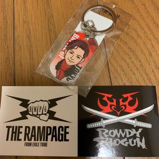 ザランページ(THE RAMPAGE)の岩谷翔吾 ドッグタグキーホルダー(ミュージシャン)