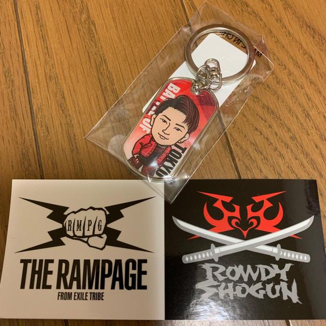 THE RAMPAGE(ザランページ)の浦川翔平 ドッグタグキーホルダー エンタメ/ホビーのタレントグッズ(ミュージシャン)の商品写真