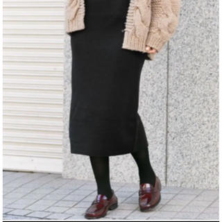 Sonny Label - サニーレーベル☆ミラノリブニットタイトスカート
