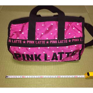 PINK-latte - PINK-latteボストンバッグ