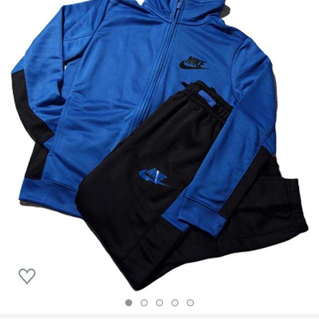 NIKE(ナイキ)のジュニアセットアップ キッズ/ベビー/マタニティのキッズ服 男の子用(90cm~)(ジャケット/上着)の商品写真