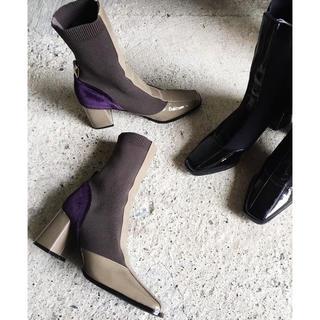 アリシアスタン(ALEXIA STAM)のjuemi  Enamel Mia Boots(ブーツ)