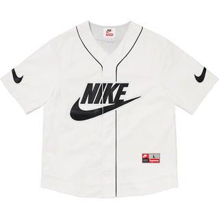 Supreme - Supreme®/Nike® Leather Baseball Jersey