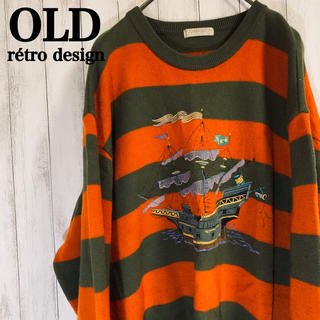OLD rétro vintage sweat sweater(スウェット)