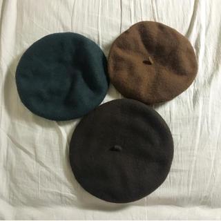 サマンサモスモス(SM2)のベレー帽 3点セット(ハンチング/ベレー帽)