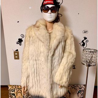 大人気・ブルーフォックス毛皮 SAGA FOX 6,(毛皮/ファーコート)
