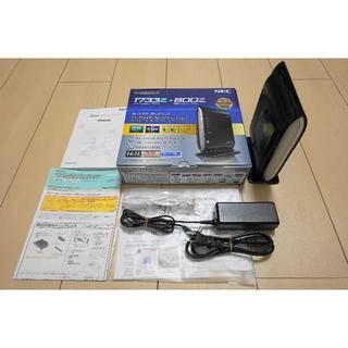 美品です NEC Aterm PA-WG2600HP 無線LANルーター