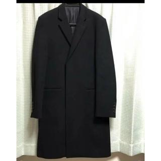 ラッドミュージシャン(LAD MUSICIAN)の着用二回 2014年購入 ラッドミュージシャン メルトンチェスターコート 42(チェスターコート)