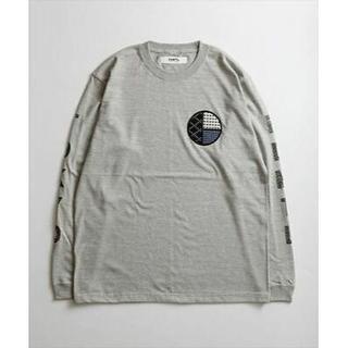 ファンダメンタルアグリーメントラグジュアリー(FUNDAMENTAL AGREEMENT LUXURY)の【FDMTL】 CIRCLE SASHIKO L/S Gray サイズ:2(Tシャツ/カットソー(七分/長袖))
