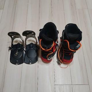 ヨネックス(YONEX)のYONEX ステップイン ブーツ25.5とビンディングのセット(ブーツ)