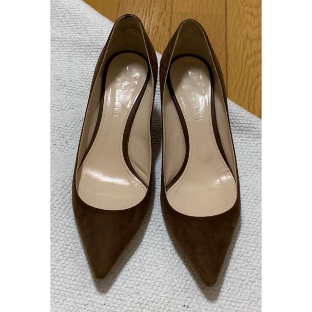 L'Appartement DEUXIEME CLASSE(アパルトモンドゥーズィエムクラス)の※新春お値下げ※ NINA RICCI  6.5cmスエードパンプス レディースの靴/シューズ(ハイヒール/パンプス)の商品写真