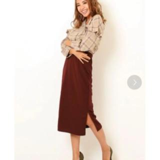 アナップ(ANAP)のAlluge ANAP スカート(ロングスカート)