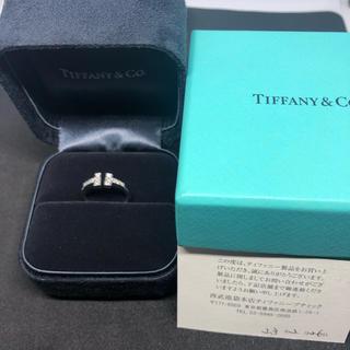 ティファニー(Tiffany & Co.)の新品磨き済み ティファニー tワイヤー  ダイヤ リング(リング(指輪))