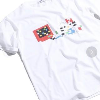 サンリオ - キティ、ドット柄、Tシャツ