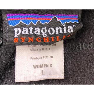 patagonia - パタゴニア フリース レディース シンチラボア MADEIN USA 90s